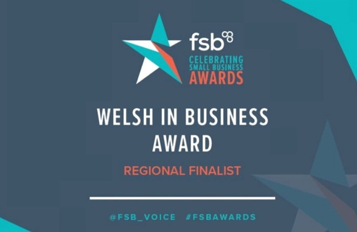 FSB Welsh in Business Award Regional Finalist