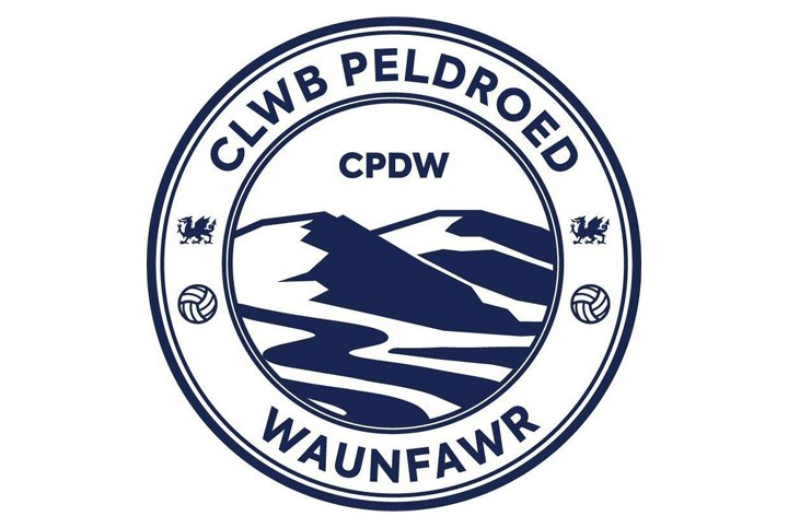 waunfawr football club logo